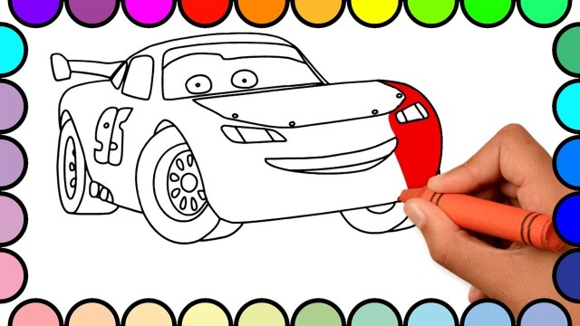 Lightning Mcqueen Coloring Pages Lightning Mcqueen Coloring Pages Awesome Collection How To Draw