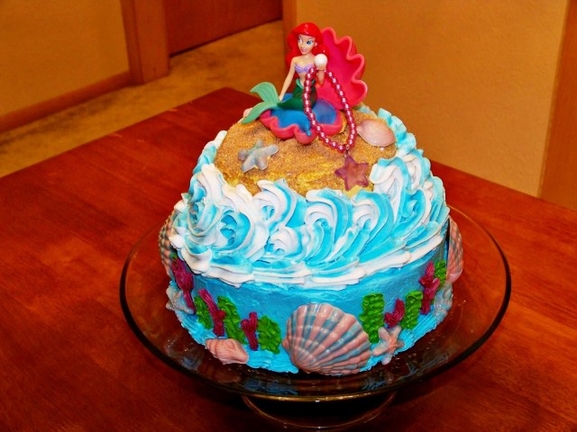 Little Mermaid Birthday Cake Walmart 7 Iballisticsquid Under The Sea Cakes Photo Under Sea Birthday