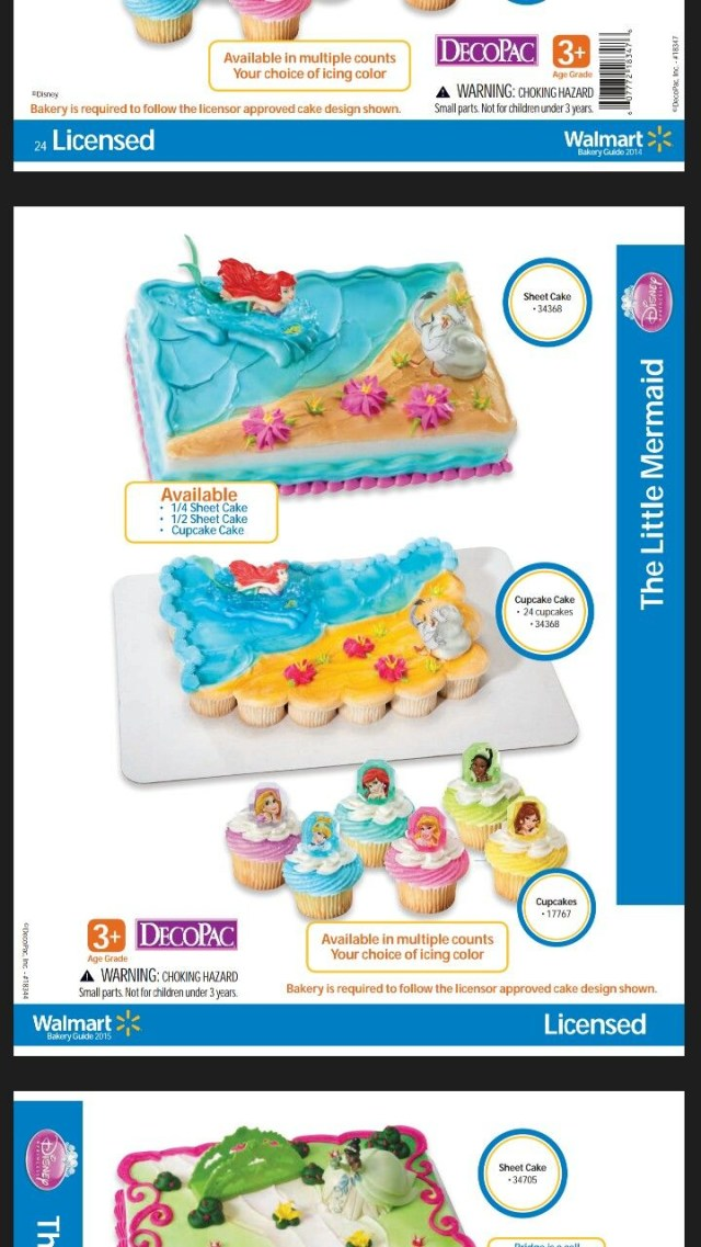 Little Mermaid Birthday Cake Walmart Little Mermaid Cake At Walmart Little Mermaid Birthday Pinterest