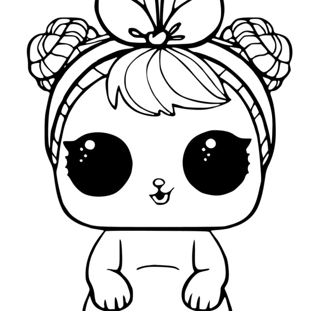 Lol Coloring Pages 20 Free Printable Lol Surprise Pets Coloring Pages Coloring Junction