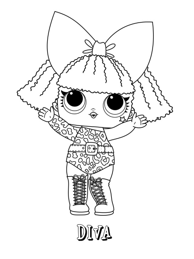 Lol Coloring Pages Lol Surprise Coloring Pages Print And Color