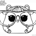 Lol Coloring Pages Lol Surprise Doll Coloring Pages Series 3 Cherry Ham Free
