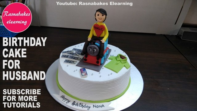 Men Birthday Cakes Happy Birthday To My Husbandbirthday Cake For Menbirthday Cake For