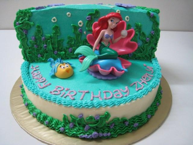 Mermaid Birthday Cakes Mermaid Cakes Decoration Ideas Little Birthday Cakes
