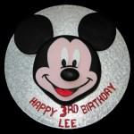 Mickey Mouse Birthday Cake Disney Mickey Mouse Birthday Cake