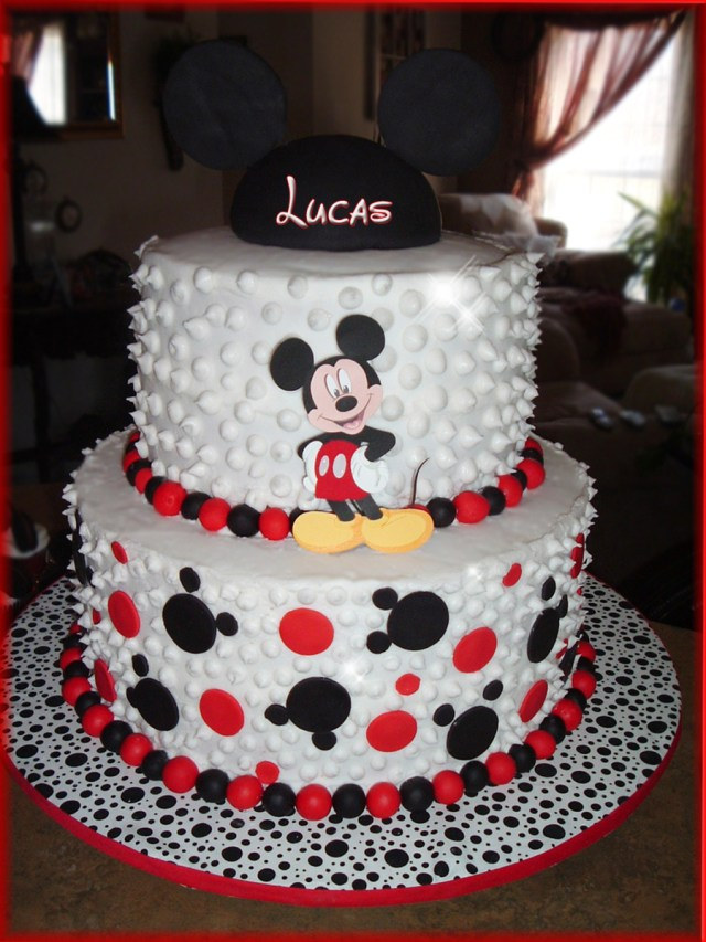 Mickey Mouse Birthday Cake Ideas Mickey Mouse Birthday Cake Cakecentral