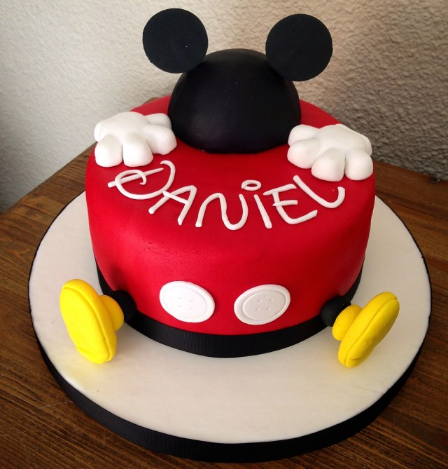 Mickey Mouse Birthday Cake Ideas Mickey Mouse Cake Cakesme Mickey Mouse Birthday Mickey Mouse