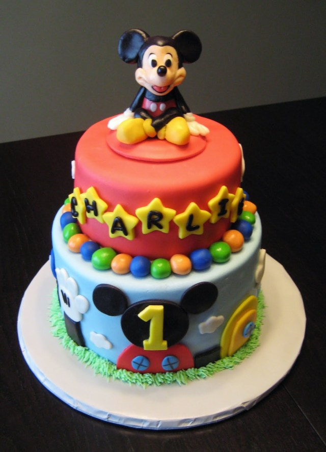 Mickey Mouse Birthday Cake Ideas Mickey Mouse Cake Decoration Ideas Little Birthday Cakes