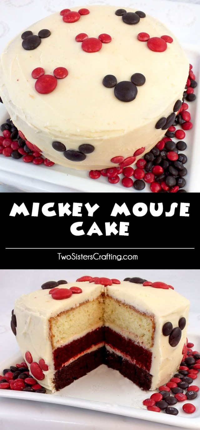 Mickey Mouse Birthday Cake Ideas Mickey Mouse Cake Two Sisters