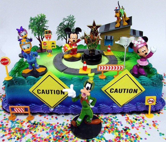 Mickey Mouse Clubhouse Birthday Cakes Buy Mickey Mouse Clubhouse Mickey And The Roadster Racers Birthday