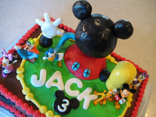 Mickey Mouse Clubhouse Birthday Cakes Mickey Mouse Birthday Cake Design Ideas Classic Style