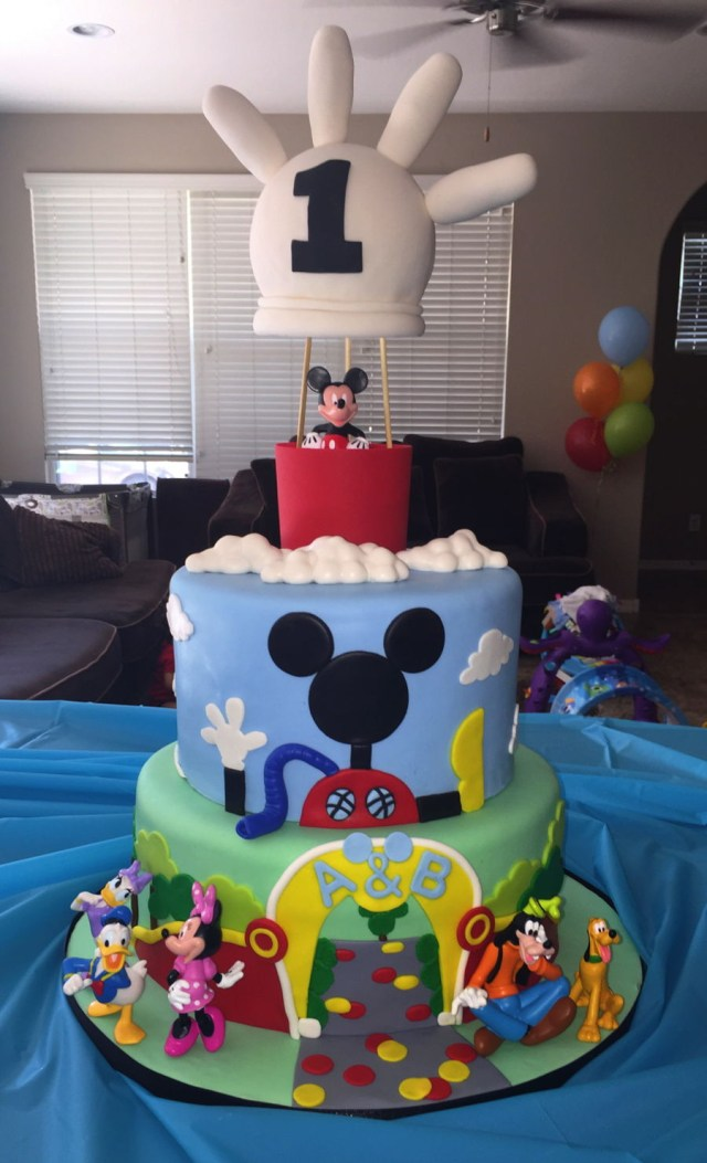 Mickey Mouse Clubhouse Birthday Cakes Mickey Mouse Clubhouse Birthday Cake Cakecentral