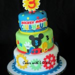 Mickey Mouse Clubhouse Birthday Cakes Mickey Mouse Clubhouse Cake Birthday Party Ideas For Ht