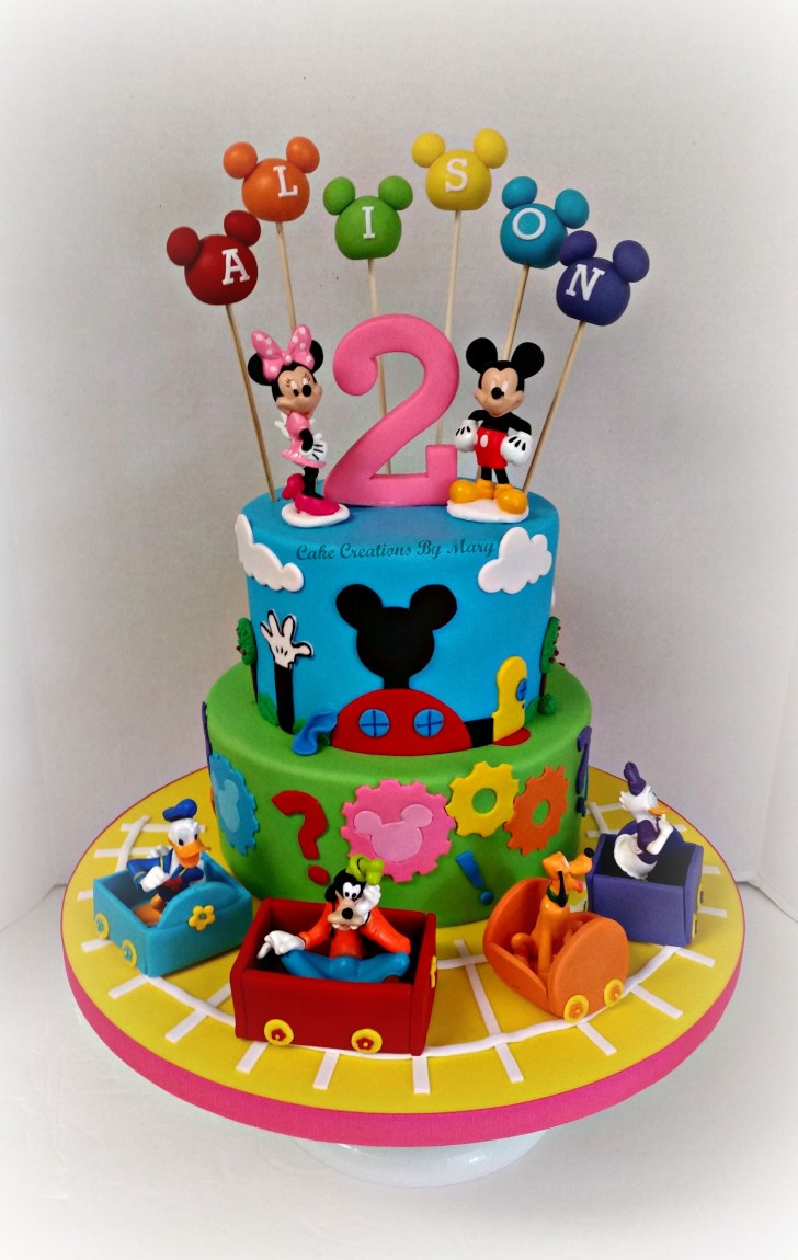 35+ Amazing Image of Mickey Mouse Clubhouse Birthday Cakes