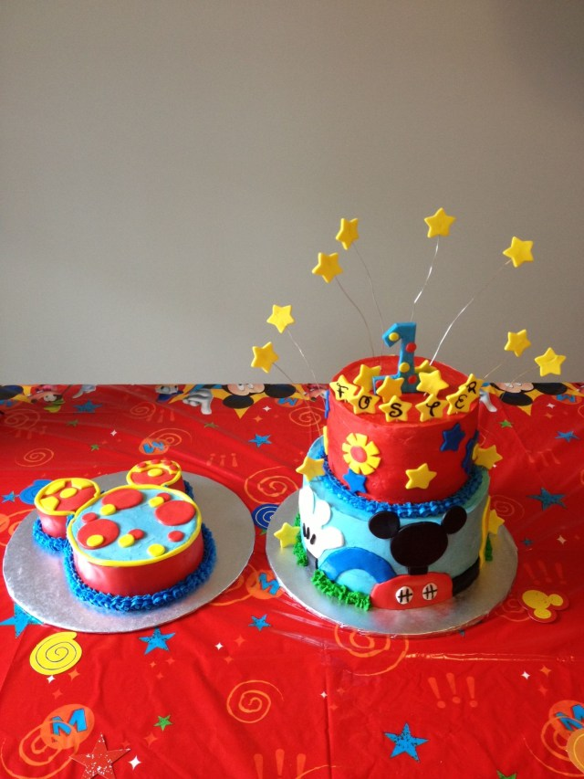 Mickey Mouse Clubhouse Birthday Cakes Mickey Mouse Clubhouse Theme With Smash Tootles Stephanie Shaws