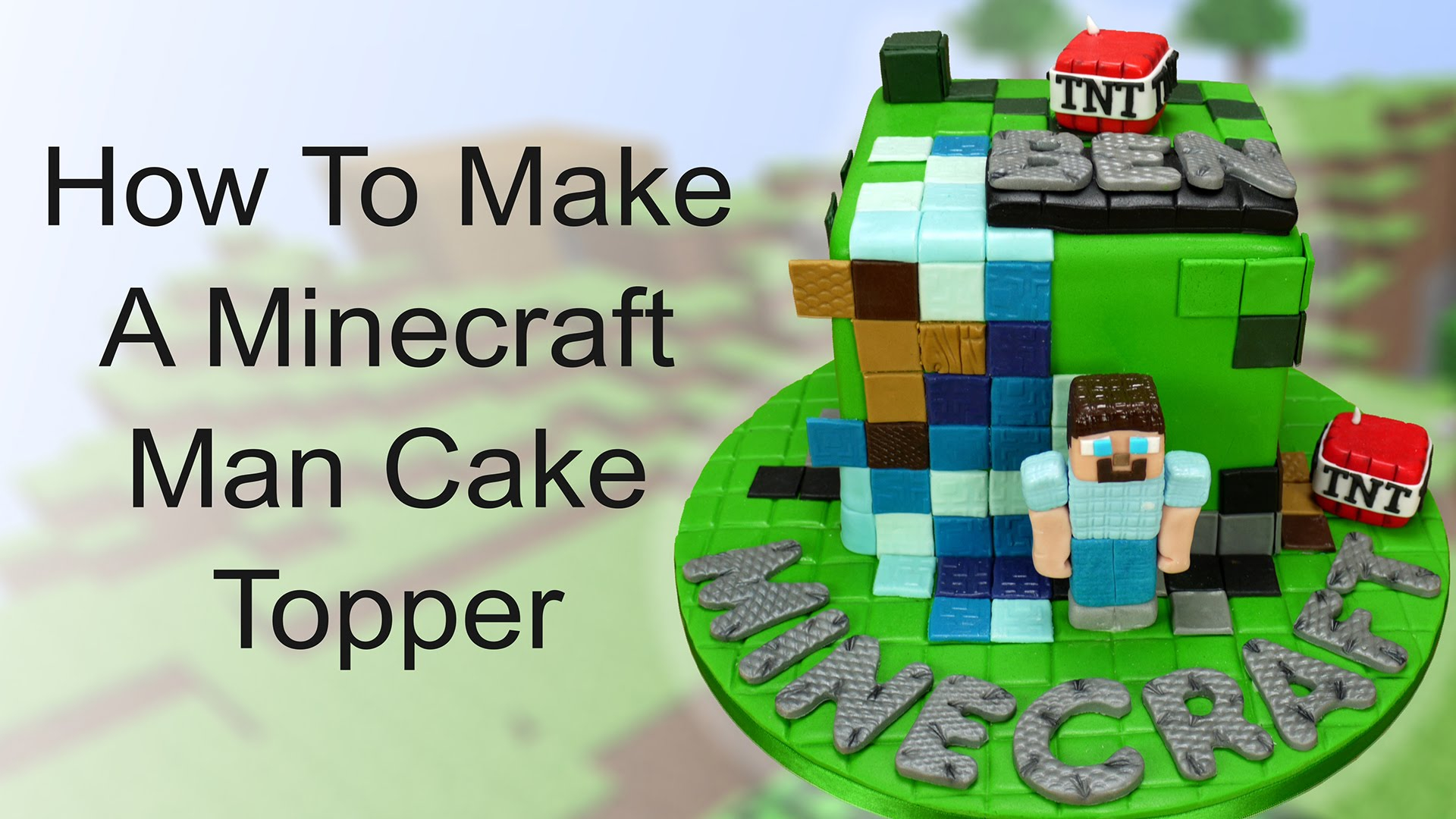 35 Inspired Picture Of Minecraft Birthday Cake Toppers