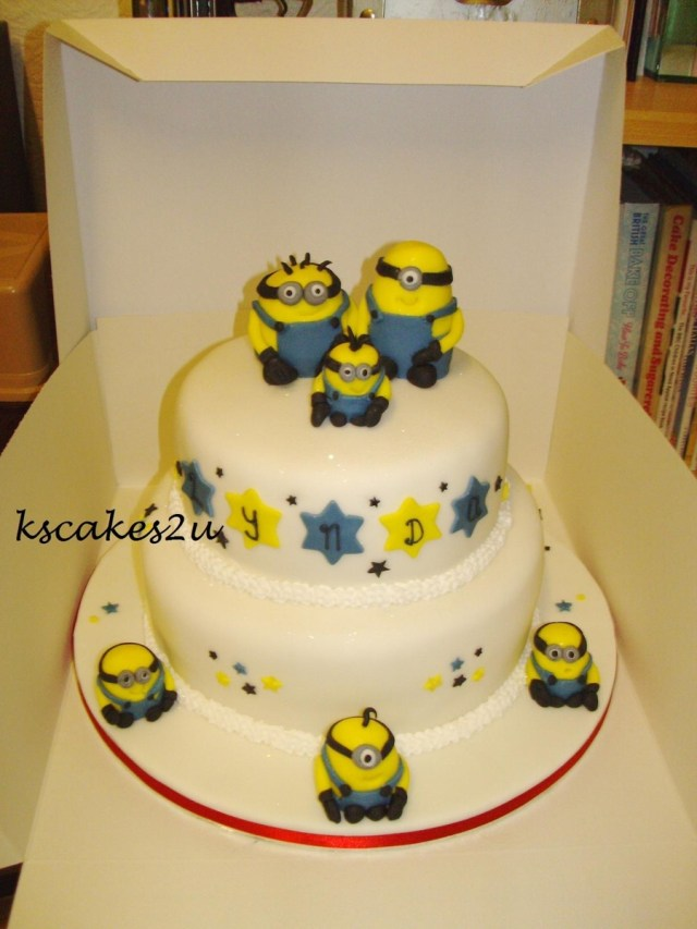 Minions Birthday Cake Despicable Me Minions Birthday Cake Cakecentral