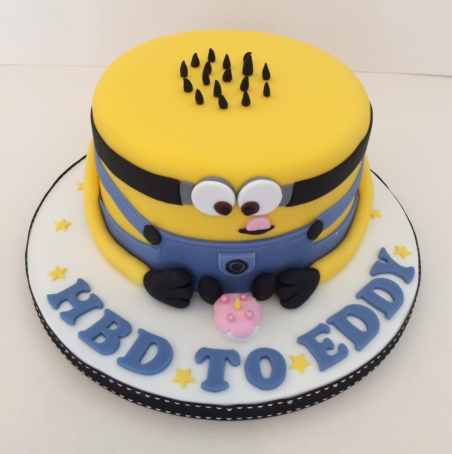 Minions Birthday Cake Minion