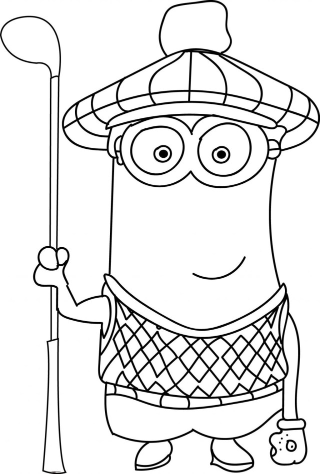 Minions Coloring Pages New Bad Minion Coloring Pages 001cp