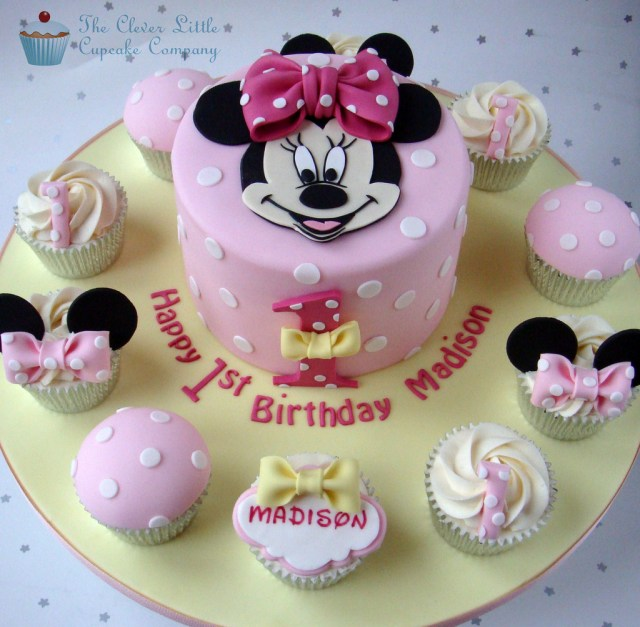 Minnie Mouse 1St Birthday Cake Minnie Mouse 1st Birthday Cake A Photo On Flickriver
