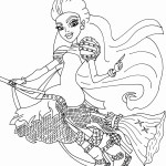 Monster High Coloring Page Monster High Coloring Pages Printerkids Epic Monster High Coloring