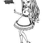 Monster High Coloring Page Monster High For Children Monster High Kids Coloring Pages