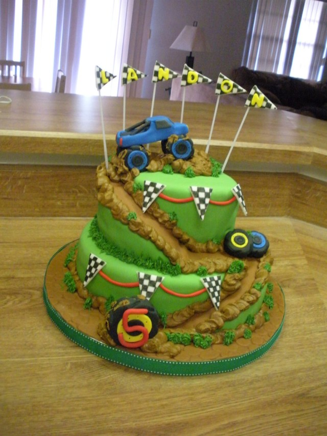 Monster Truck Birthday Cakes Monster Truck Birthday Party Cakecentral