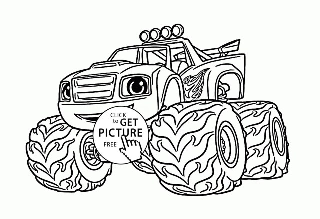 Monster Truck Coloring Page Free Monster Truck Coloring Pages To Print Beautiful Printable Truck