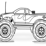 Monster Truck Coloring Page Monster Truck Coloring Pages Printable Uma Printable