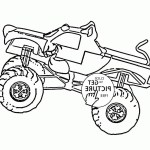 Monster Truck Coloring Pages Bulldozer Monster Truck Coloring Pages Scoo Doo For Preschool