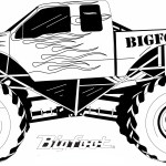 Monster Truck Coloring Pages Coloring Page 42 Fabulous Truck Coloring Sheets