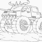 Monster Truck Coloring Pages Monster Jam Truck Coloring Pages Printable Printable Kids