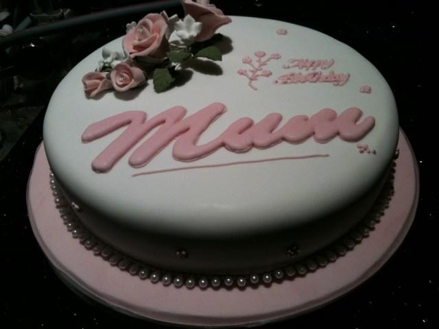 Mother Birthday Cake Mothers Birthday Cake Irene Flickr
