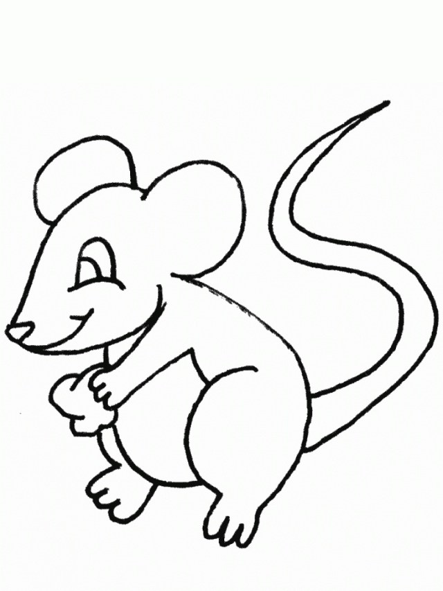 Mouse Coloring Page Free Printable Mouse Coloring Pages For Kids