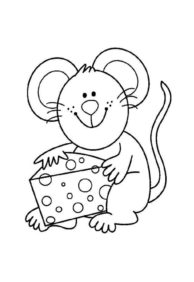 Mouse Coloring Page Mouse Free To Color For Kids Mouse Kids Coloring Pages