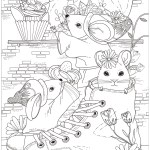 Mouse Coloring Page Mouse To Color For Children Mouse Kids Coloring Pages