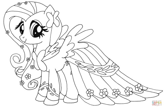 My Little Pony Coloring Pages Fluttershy From My Little Pony Coloring Page My Little Pony