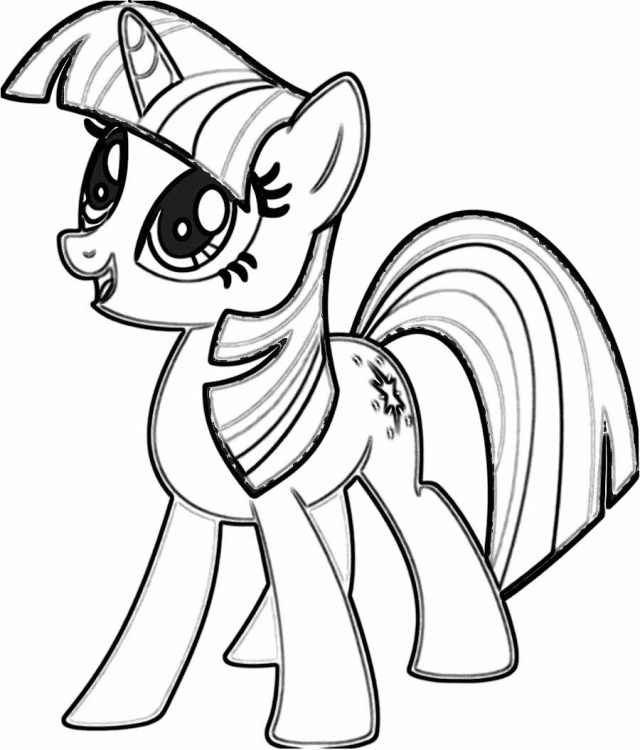 My Little Pony Coloring Pages Little Pony Coloring Pages Free Download Best Little Pony Coloring