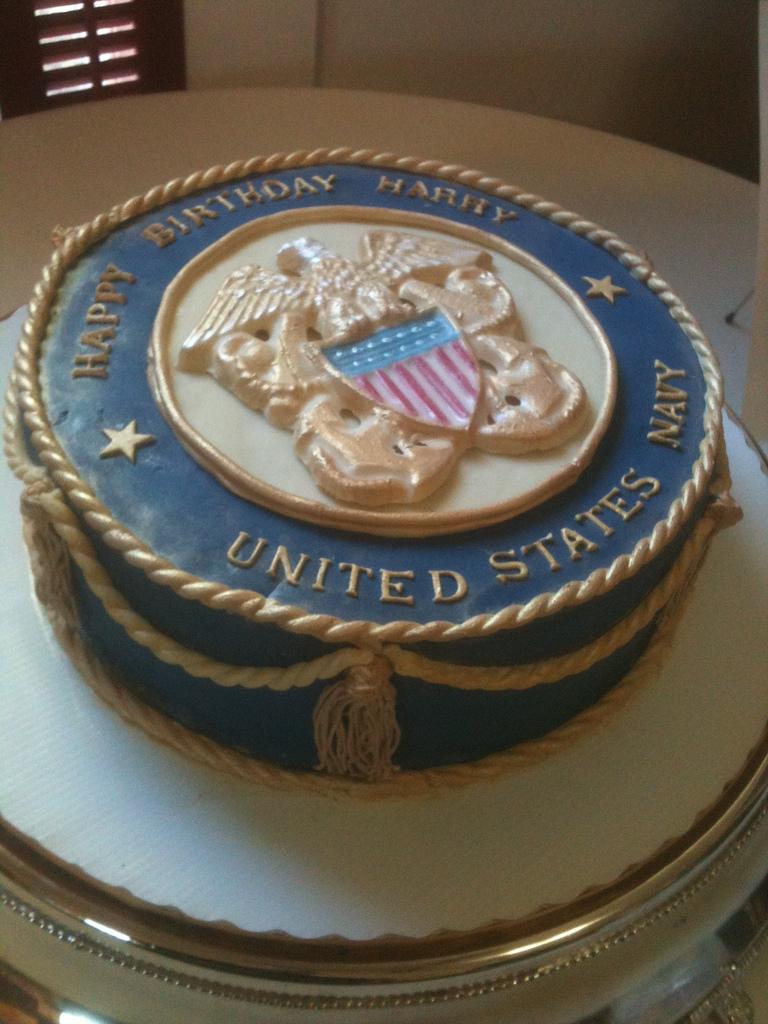 Navy Birthday Cake Navy Birthday Cake Sharon Dutton Flickr