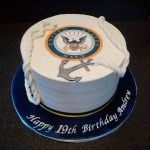 Navy Birthday Cake Navy Themed Birthday Cake On Cake Central Lotus Custom Cakes