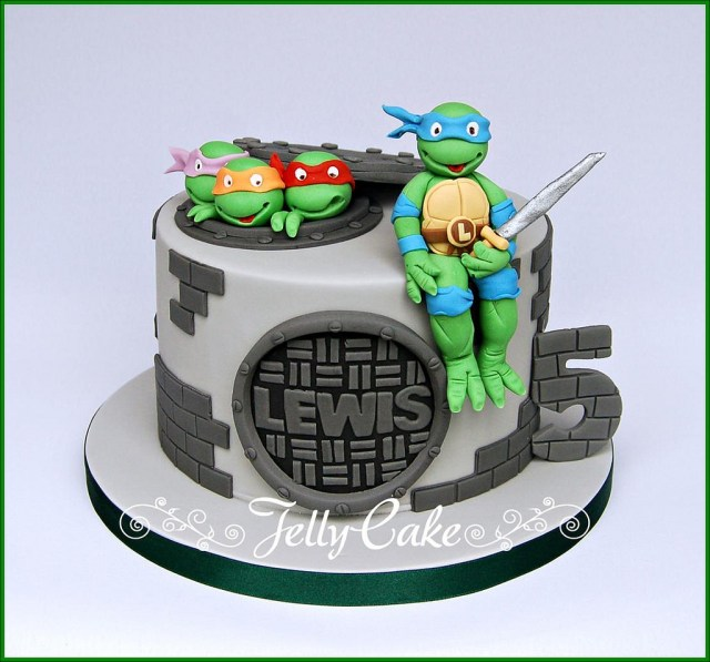 Ninja Turtles Birthday Cake Teenage Mutant Ninja Turtles Birthday Cake A Tmnt Birthday Flickr