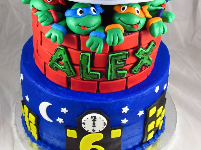 Ninja Turtles Birthday Cake Teenage Mutant Ninja Turtles Birthday Cake Cakecentral