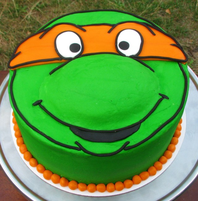 Ninja Turtles Birthday Cake Teenage Mutant Ninja Turtles Birthday Cake Kindergeburtstag