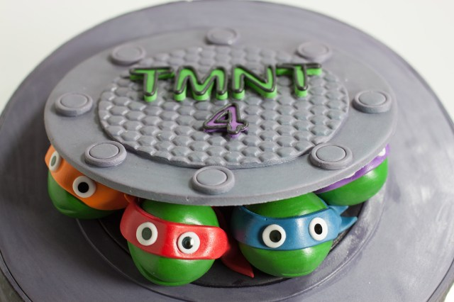 Ninja Turtles Birthday Cake Teenage Mutant Ninja Turtles Birthday Cake