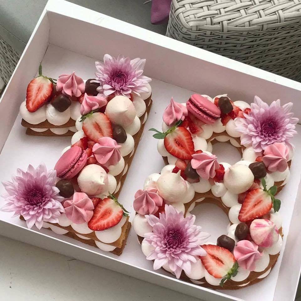 Number Birthday Cakes New Trend Of 2018 Birthday Cake Cake Birthdaycakes Trends2018