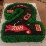Number Birthday Cakes Number 2 Birthday Cake Cakecentral
