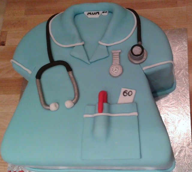 Nurse Birthday Cake Nurse Birthday Cake Cath Field Flickr