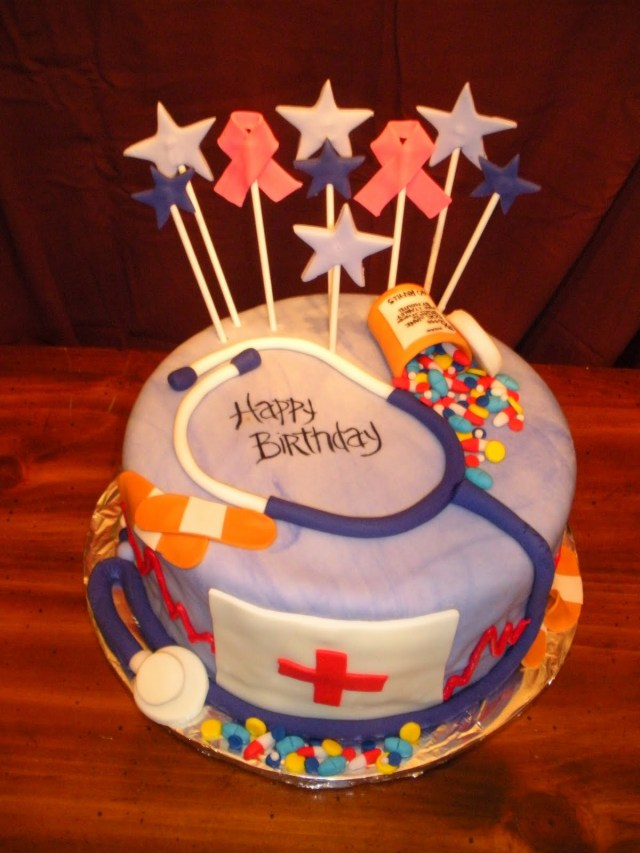 Nurse Birthday Cake Nurse Birthday Cakes