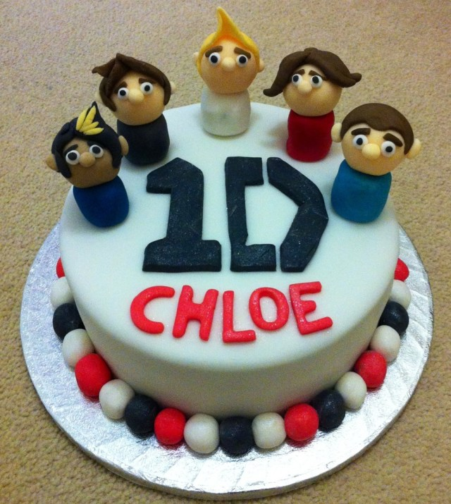 One Direction Birthday Cake One Direction Birthday Cake Cakecentral
