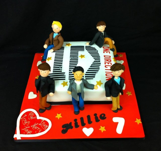 One Direction Birthday Cake One Direction Birthday Cake Cakes For All Uk